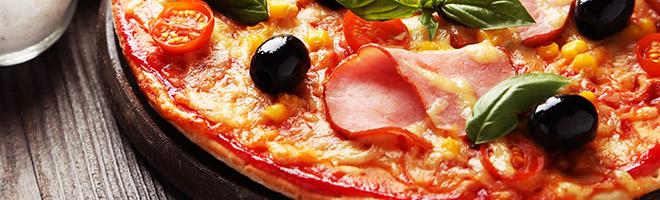 | Gefüllte Pizza (Calzone)